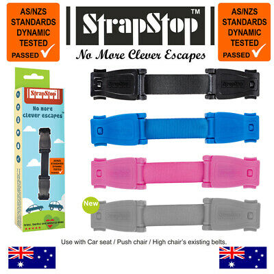 Strap Stop Baby Car Seat Safety Chest Strap Escape Child Safety Pink, Blue
