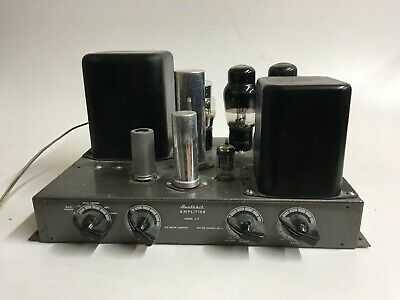 Heathkit A-9 Mono Tube Amplifier Nice Good Transformers For Restore