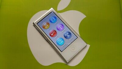 Apple iPod nano 7th Generation Silver (16 GB) In Excellent Condition!!!