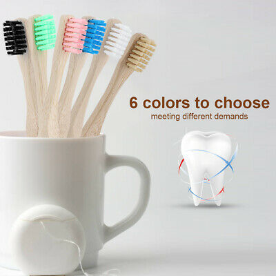 Children kids Baby Toddler Bamboo Small Brush For Head Soft Oral Care Toothbrush