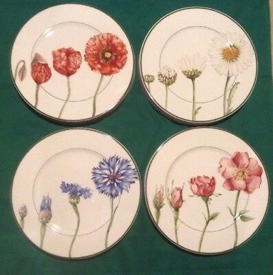 """Villeroy & Boch FLORA Country Collection 12 1/8"""" BUFFET PLATE - Choose Flower"""