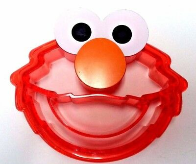Sesame Street ELMO Red Plastic Cookie Cutter/Crust Bread Cutter Evriholder X-MAS