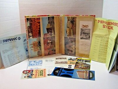 Vintage Post Card Album With Brochures From Lancaster County Pennsylvania 1970