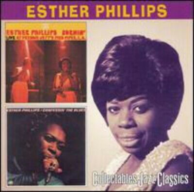 Esther Phillips - Burnin / Confessin the Blues [New CD]
