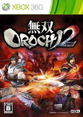 USED xbox 360 Warriors OROCHI 2 Normal Edition Japan