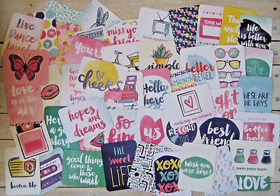 """'better Together' Edition Project Life Cards By Becky Higgins - 3"""" X 4"""" - 50 Pk"""