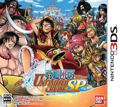 USED 3DS One Piece Unlimited Cruise SP Japan