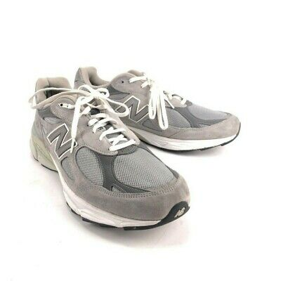 NEW BALANCE 990 v3 USA Heritage Collections Mens Sneakers NavyGrayWhite Size13