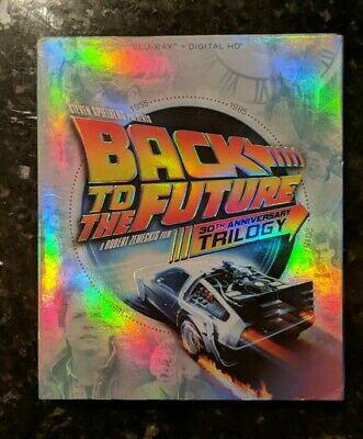 Back to the Future 30th Anniversary Trilogy (Blu-ray, 2015, 4-Disc Set)