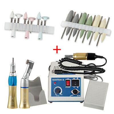Dental Lab Marathon Electric Micromotor Low Speed Handpiece 2.35mm Burs Drills N