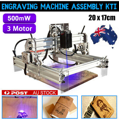 AU 500mW DIY USB Laser Engraver Printer Cutter Carver Logo Engraving Machine New