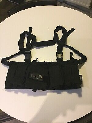 Airsoft Black Viper Load Out Vest