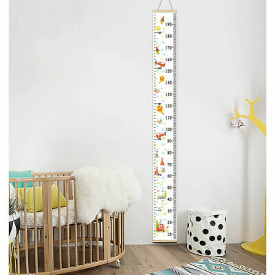 Wooden Kids Growth Chart Children Wall Hanging Height Measure Ruler AU
