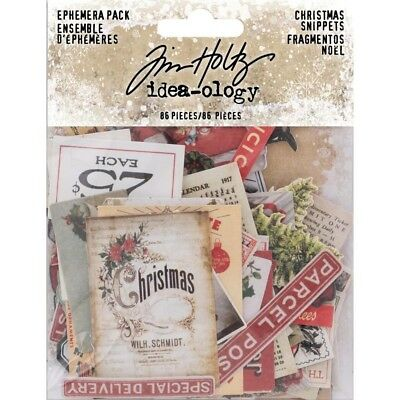 TH - Idea-Ology Ephemera Pack 86/Pkg - Snippets Tiny Die-Cuts/Christmas