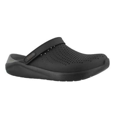 5ca9f9a38e1 NEW Crocs literide Lite Ride Relaxed Fit Clog Shoes Sandals Black 204592-0DD