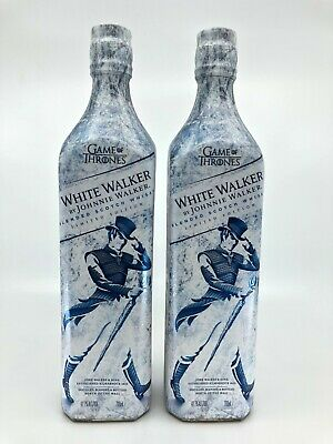 Johnnie Walker White Walker Game of Thrones limited Edition Whisky 700ml x 2