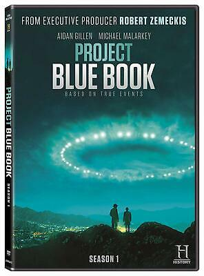 PROJECT BLUE BOOK 1 (2019): Historical Drama TV Season Series - NEW Rg1 DVD