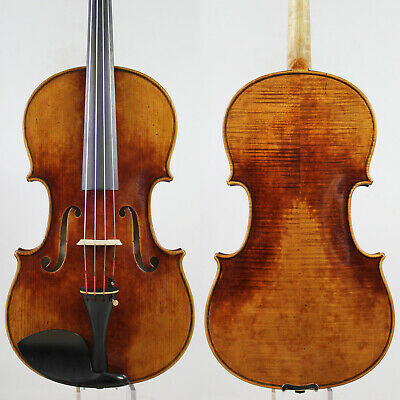 "Master performance!Copy Strad 16"" Viola, Warm Deep Tone,Aubert bridge!M5369"
