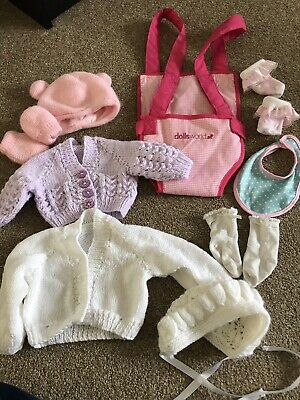 Doll Clothes Bundle, Carrier Bundle