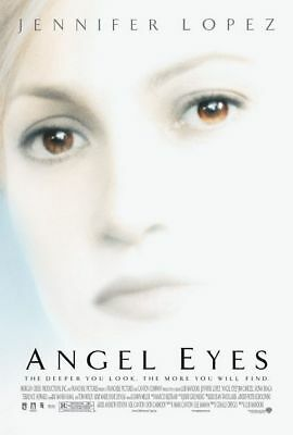 ANGEL EYES MOVIE POSTER 2 Sided ORIGINAL 27x40 JENNIFER LOPEZ - JIM CAVIEZEL