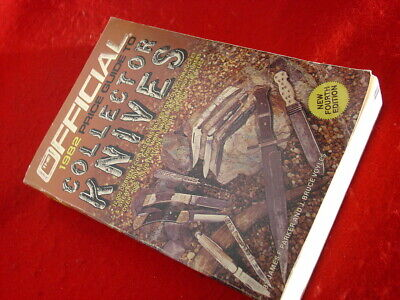 Jim Parker Bruce Voyles 636 page Official 1982 Knife Collectors Price Guide Book