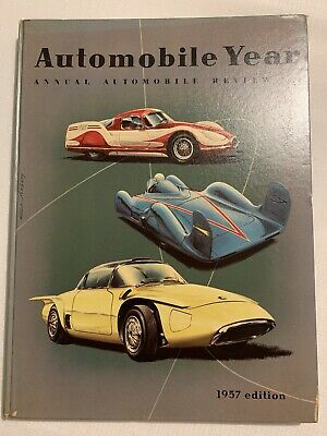 Automobile Year Annual Automobile Review No.4 1957 Edition