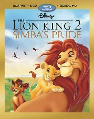 The Lion King 2: Simba's Pride (2 Disc, Blu-ray + DVD) BLU-RAY NEW