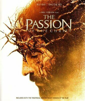 The Passion of The Christ (2 Versions) BLU-RAY NEW