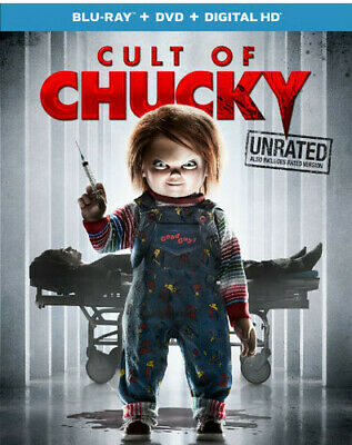 Childs Play 7: Cult of Chucky (2 Disc Blu-ray + DVD Unrated Version) BLU-RAY NEW