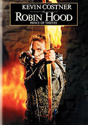 Robin Hood: Prince of Thieves DVD NEW