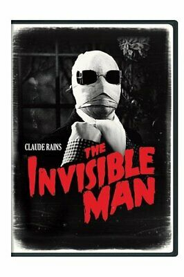 The Invisible Man (1933 Claude Rains) DVD NEW