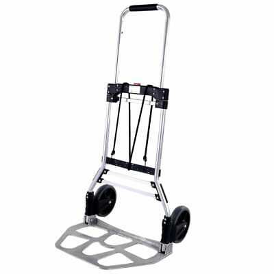 Foldable aluminium professional hand truck transport truck to fold up 120 kg