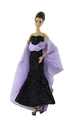 Fashion Party Dress Evening Clothes/Gown For 11 inch. Doll #22