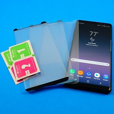 HD Curved Full Cover Tempered Glass Protector For Samsung Galaxy Note 8 LOT
