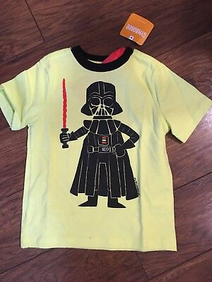 Gymboree Star Wars Darth Vader Short Sleeve Tee Size 2 2T NWT