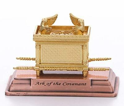 "The Ark of the Covenant Gold Plated Table Top Mini Zuluf - 2"" X 1.50"" X 1.10"" HL"