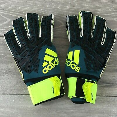 ADIDAS ACE TRANS Ultimate Gloves Football Goalkeeper Size 11 FingerSave R531 32