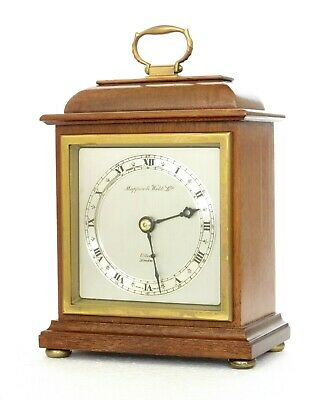 Quality Vintage Elliott Bracket / Mantel Clock, Mappin & Webb, Working Very Well