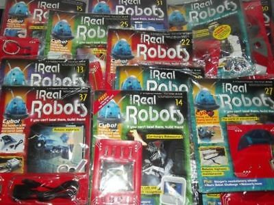 Ultimate Real Robots Magazines with Parts New and Sealed