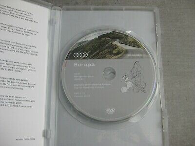 Audi Navigation plus RNS-E DVD Version 2019 Frankreich Spanien 2018 Original NEU