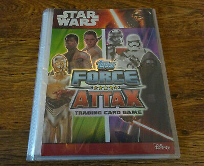 Star Wars Topps Force Attax Bundle Cards & Folder Inc. Limited Editions Rares