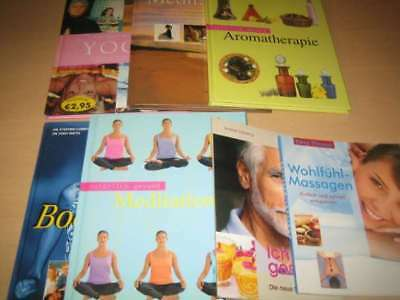 Yoga - Meditation - Aromatherapie u. a. ( + Meditations CD) (7 Bücher)