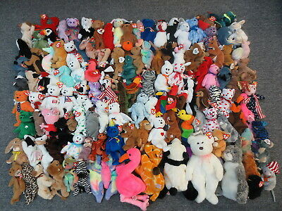 acadcd17c46 ~~122 Ty Beanie Babies   Buddies Collection Lot - Wholesale Bulk Sale  Beanies