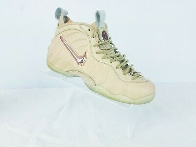 purchase cheap dbbbd af553 Nike Air Foamposite Pro PRM AS QS Vachetta Tan Rose Gold 920377-200 Size