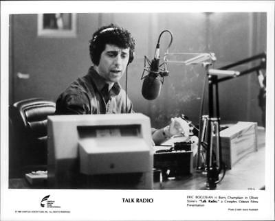 A scene from the film Talk Radio. - Vintage photo