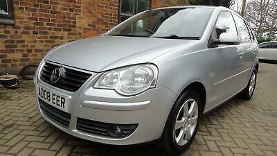 2008 08 Volkswagen Polo 1.2 ( 60PS } Match 5DR HATCH SILVER*ALOYS*AIRCON*PAS*ABS