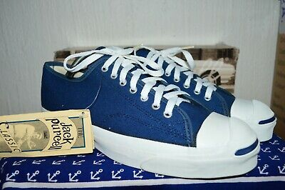 9725003db183 Converse Jack Purcell Vintage Rare Canvas Deadstock OG MADE IN USA 10 NWB