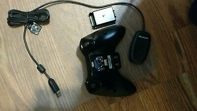 Microsoft Xbox 360 (JR9-00011) Gamepad with wireless receiver for windows PC