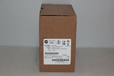 New In Box Allen-Bradley 25C-D1P4N114  25Cd1P4N114  Ser A