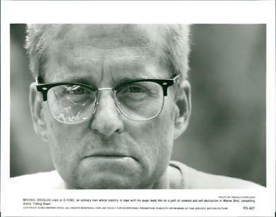 A scene from the film Falling Down. - Vintage photo